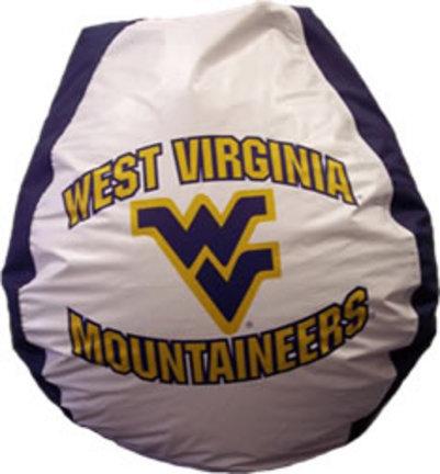West Virginia Mountaineers Collegiate Bean Bag Chair