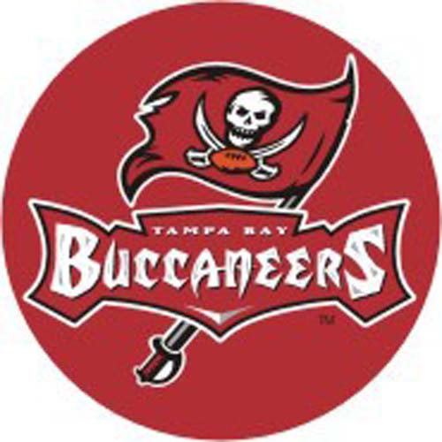 Mini 7 Inch Round Pool Art - Tampa Bay Buccaneers (Set of Four Emblems) eb9a0883c