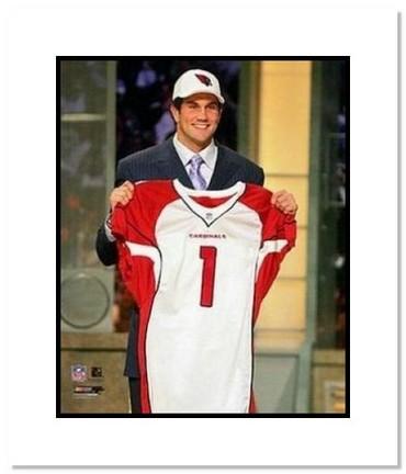 "Matt Leinart Arizona Cardinals NFL ""1st Round Draft Pick"" Double Matted 8"" x 10"" Photograph"