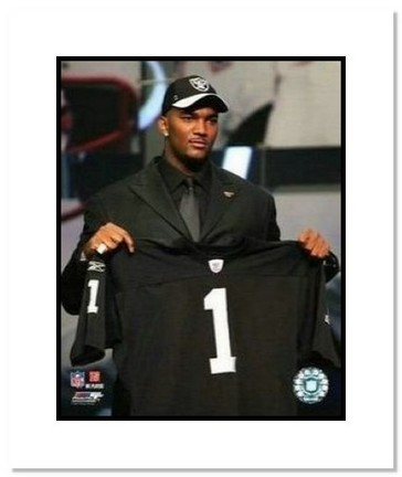 """JaMarcus Russell Oakland Raiders NFL """"2007 NFL Draft Day"""" Double Matted 8"""" x 10"""" Photograph"""