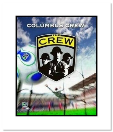 "Columbus Crew MLS Soccer ""Team Logo"" Double Matted 8"" x 10"" Photograph"