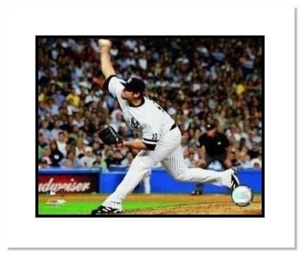 "Joba Chamberlain New York Yankees MLB ""Pitching"" Double Matted 8"" x 10"" Photograph"