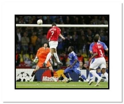 "Cristiano Ronaldo Manchester United English Premier League ""2008 UEFA Champions League Final Header"" Double Ma"