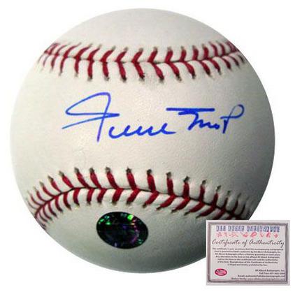 Willie Mays San Francisco Giants Autographed Rawlings MLB Baseball