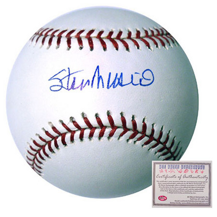 Stan Musial St. Louis Cardinals Autographed Rawlings MLB Baseball AAA-75308