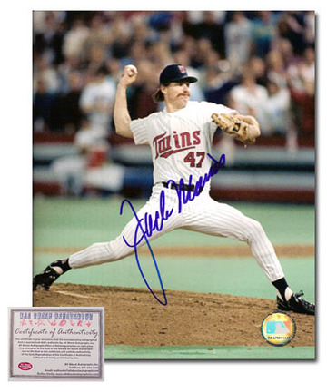 "Jack Morris Autographed ""Home Jersey"" 16"" x 20"" Photograph (Unframed)"