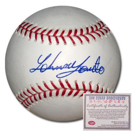 Johnny Cueto Autographed Rawlings MLB Baseball
