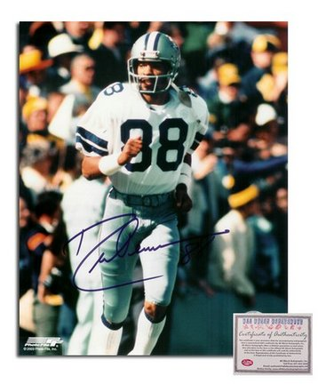 """Drew Pearson Dallas Cowboys Autographed 8"""""""" x 10"""""""" Photograph (Unframed)"""" AAA-75859"""
