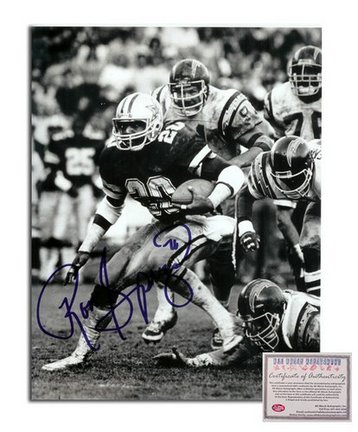 "Ron Springs Dallas Cowboys Autographed 8"" x 10"" Photograph (Unframed)"