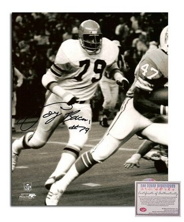 """Coy Bacon Cincinnati Bengals Autographed 8"""""""" x 10"""""""" Photograph with """"""""#79"""""""" Inscription (Unframed)"""" AAA-75881"""