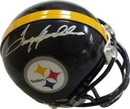 Terry Bradshaw Pittsburgh Steelers NFL Autographed Mini Helmet