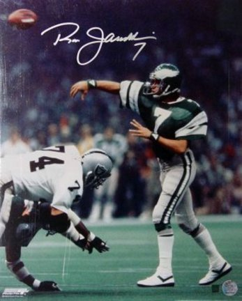 "Ron Jaworski Philadelphia Eagles NFL Autographed 16"" x 20"" Photograph"