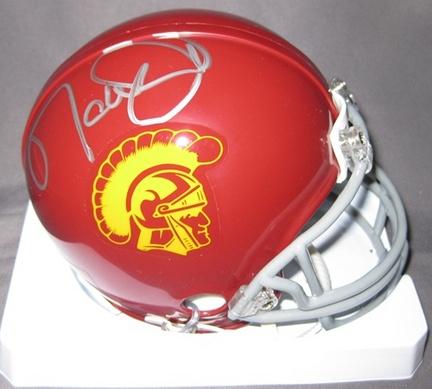 Matt Leinart USC Trojans NCAA Autographed Mini Football Helmet