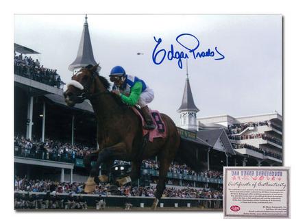 Click here for Edgar Prado Barbaro Horse Racing 2006 Kentucky Der... prices