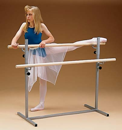 5' Ballet Bar (Free Standing Single Bar) from American Athletic, Inc