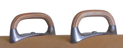 Flat Top Pommels (One Pair) from American Athletic, Inc.