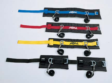 "Medium Padded Tumbling Belt (28"" to 32"") from American Athletic, Inc"