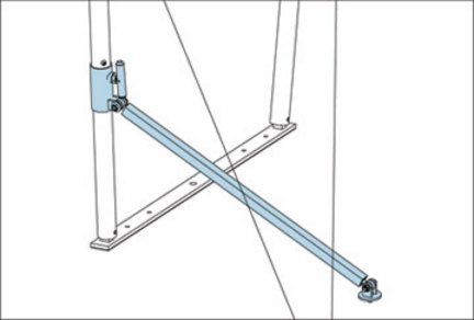 UTB Stabilizer Braces (One Pair) from American Athletic, Inc.