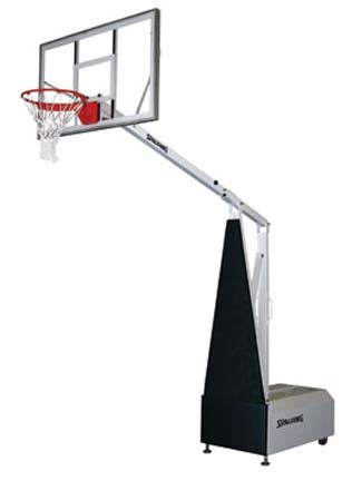 Fastbreak 960 Portable Basketball Backstop from Spalding