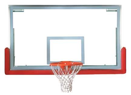 42 x 72 SuperGlass™ Pro Basketball Backboard from Spalding