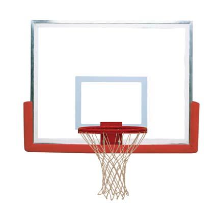 42 x 54 Bantam Glass Basketball Backboard from Spalding