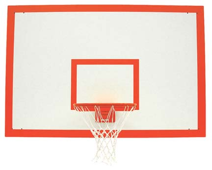 1460sb 42 x 72 Rectangular Fiberesin Basketball Backboard from Spalding