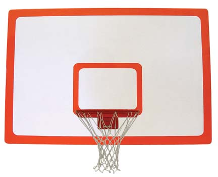 42 x 72 Rectangular Fiberglasssb Basketball Backboard from Spalding
