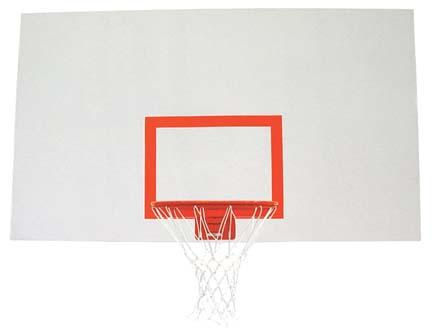 42 x 72 Rectangular Steelsb Basketball Backboard from Spalding