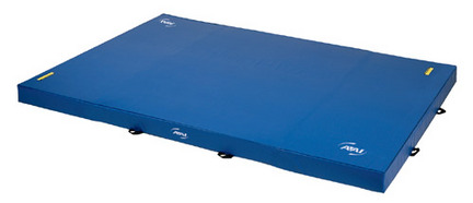 """8' x 15.5' x 8"""" (2.4m x 4.7m x 20cm) Sting Competition Landing Mat from American Athletic, Inc."""