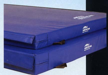 8 x 15.5 x 4.7 V2 Firm Style 12cm Duo Fold FIG Competition Landing Mat from American Athletic Inc