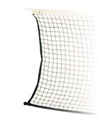 36' Tennis Net for Use on a Volleyball Court Setup from Spalding
