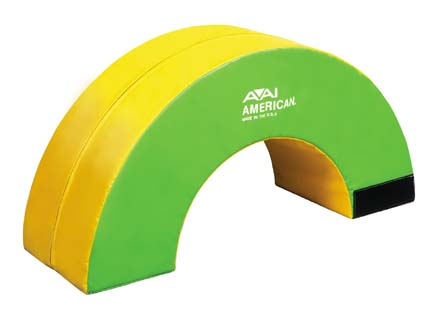 Rock 'n Roll Action Shape (One Half Section) from American Athletic, Inc