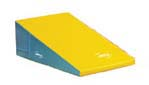 "36"" x 72"" x 16"" (91 x 182 x 40cm) Marine / Yellow Standard Foam Folding Motor Development Wedge from Amer"