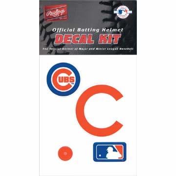 Authentic MLB Official Batting Helmet Decal Kit from Rawlings RAW-RMLBDK