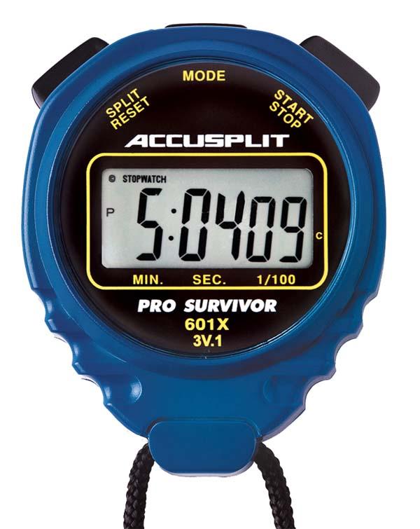 ACCUSPLIT A601X PRO SURVIVOR ™ Stopwatch - Blue