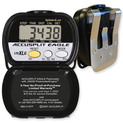 ACCUSPLIT Eagle AE170XLG Activity Pedometer