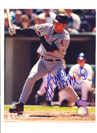 "Brady Anderson Baltimore Orioles Autographed 8"" x 10"" Photograph (Unframed)"