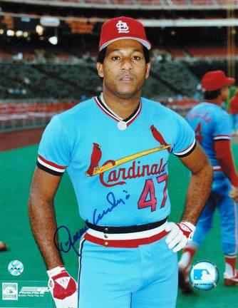 """Joaquin Andujar Autographed """"Pose"""" St. Louis Cardinals 8"""" x 10"""" Photo"""