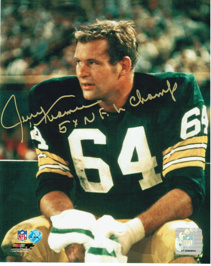 Jerry kramer green bay packers authentic jersey packers for Right time images