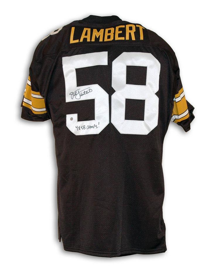 8a4636934cf Jack Lambert Pittsburgh Steelers Memorabilia