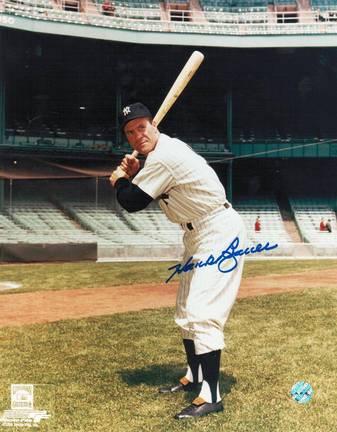 "Hank Bauer Autographed ""Batting Stance"" New York Yankees 8"" x 10"" Photo"