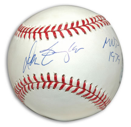 "Don Baylor Autographed Baseball Inscribed with ""MVP 1979"""