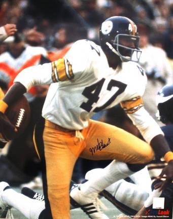 "Mel Blount Autographed ""Vs Vikings"" Pittsburgh Steelers 16"" x 20"" Photo"