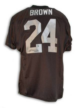 "Willie Brown Oakland Raiders Autographed Throwback Jersey Inscribed with """"HOF 84"" APE-BROWN-WILLIE-HOF-J"