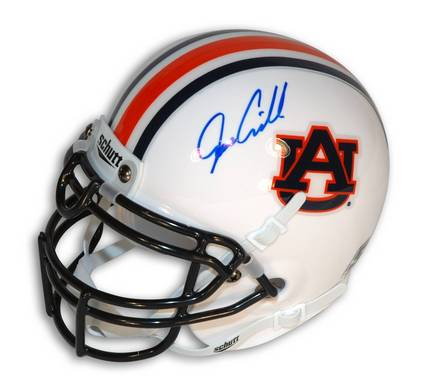 Joe Cribbs Autographed Auburn Tigers Mini Football Helmet