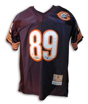 Enjoy this autographed jersey featuring NFL player Mike Ditka of the.