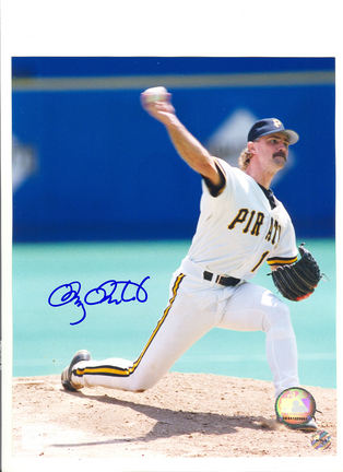 "Doug Drabek Pittsburgh Pirates Autographed 8"" x 10"" Pitching Photograph (Unframed)"