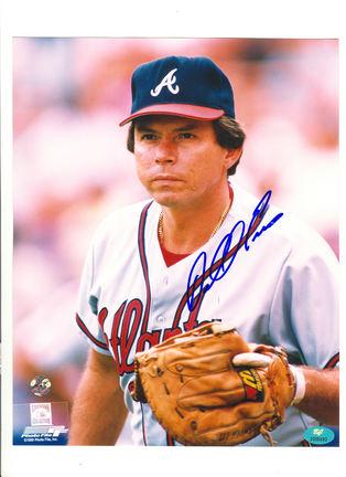 "Darrell Evans Atlanta Braves Autographed 8"" x 10"" Photograph (Unframed)"