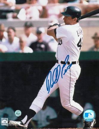 "Darrell Evans Autographed ""Swinging"" Detroit Tigers 8"" x 10"" Photo"