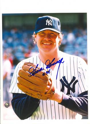 """Rich """"Goose"""" Gossage New York Yankees Autographed 8"""" x 10"""" Pose Photograph with """"54"""" Inscr"""
